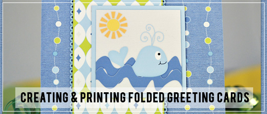 Printed Folded Greeting Cards
