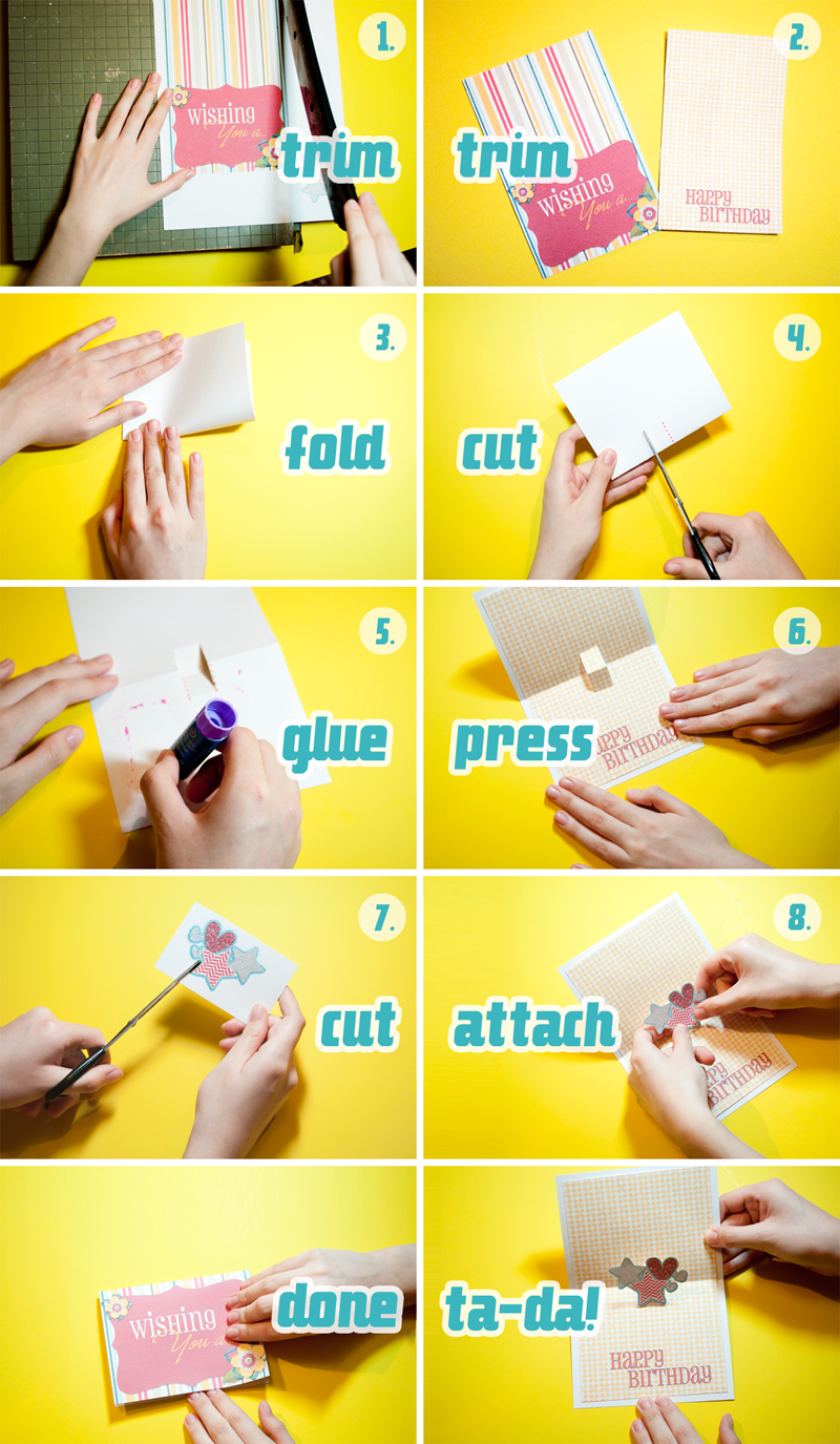 1 - Make A Pop Up Card