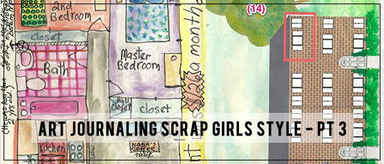 Art Journaling Scrap Girls Style - Lesson 3