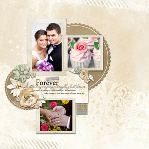 A layout before converting photos to sepia