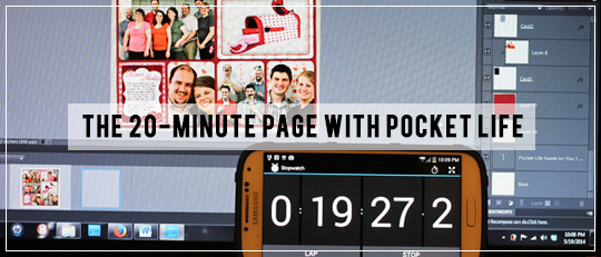 The 20 Minute Pocket Life Page