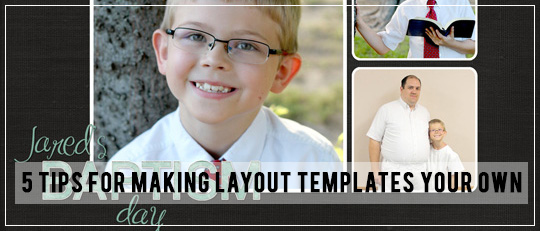 5 Tips for Personalizing Layout Templates - Intro Banner