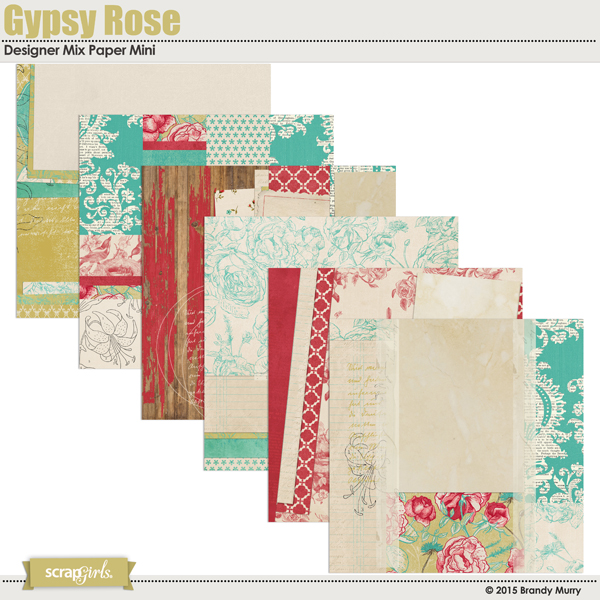 Gypsy Rose Paper Mini Design Mix