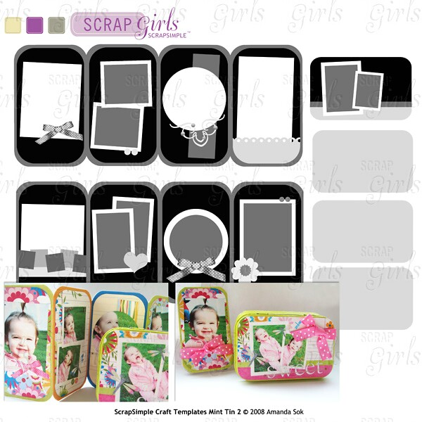 Craft Template Mint Tin 2