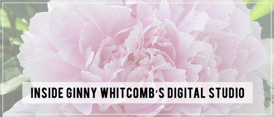 Inside Ginny Whitcomb's Digital Studio