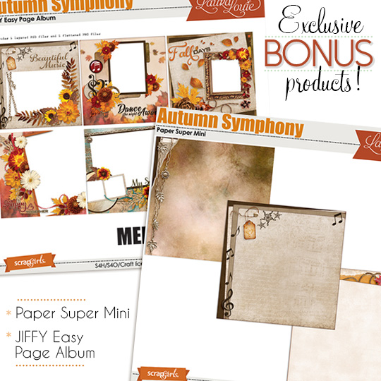 Autumn Symphony Bonus products