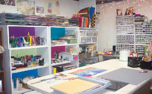 Traditional scrapbooking requires a lot of space