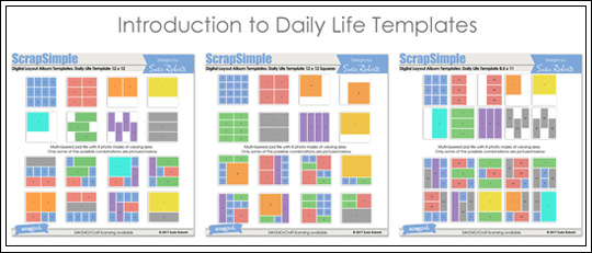 Introduction to Daily Life Templates - Intro banner