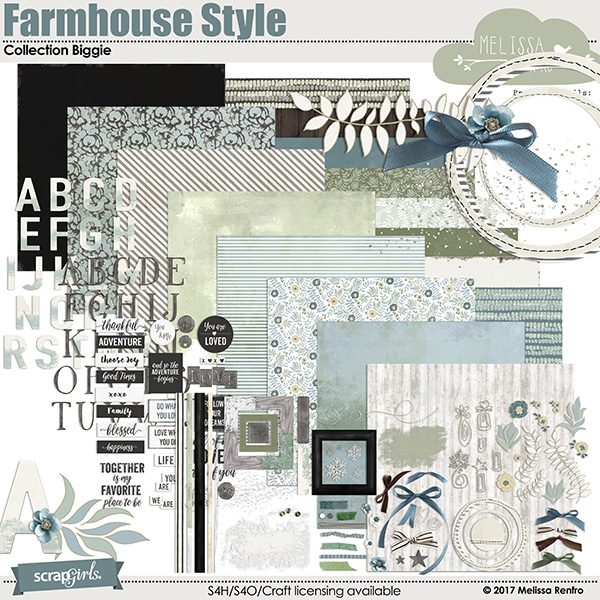 Farmhouse Style Collection Biggie