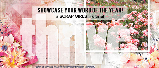 Showcase your word of the year intro banner