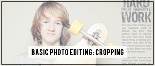 Basic Photo Editing Crop