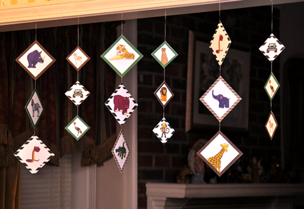 Image 7 We Love Hanging Party Decorations At Our House
