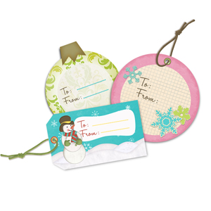 How to Make Printable Gift Tags