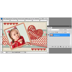 How to Make a Photo Card for Valentine's Day