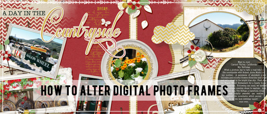 How to Alter Digital Photos Frames Intro Banner