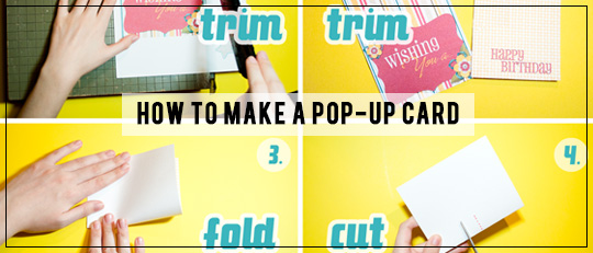 How to Make a Pop-Up Card