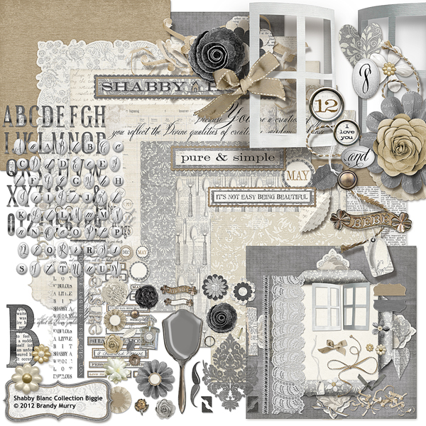 Shabby Blanc Collection