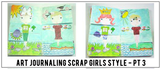 Art Journaling Scrap Girls Style - Lesson 4