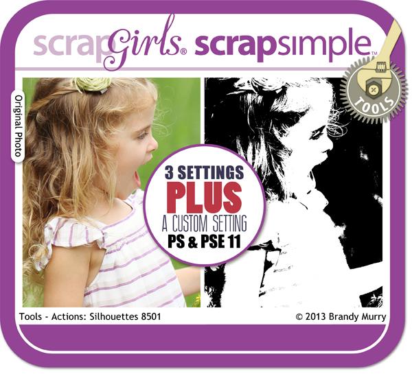 ScrapSimple Actons Silhouettes
