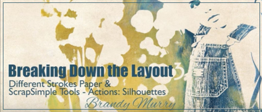 Breaking Down the Layout - Silhouettes Video Tutorial Intro Banner