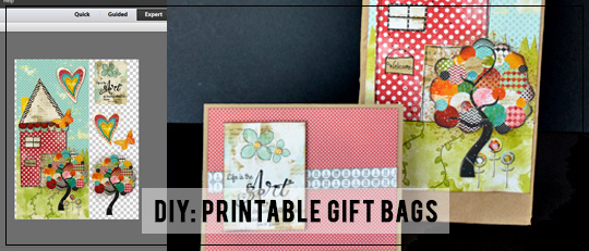 DIY: Printable Gift Bags