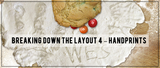 Breaking Down the Layout - Video Tutorial Using Handprints Intro Banner