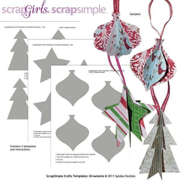 Craft Ornament Template