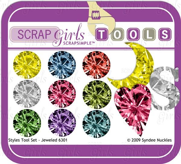 ScrapSimple Tools - Styles: Jeweled 6301 Biggie