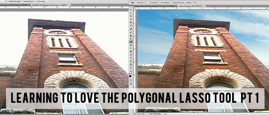 Love the Polygonal Lasso in Photoshop - Part 1
