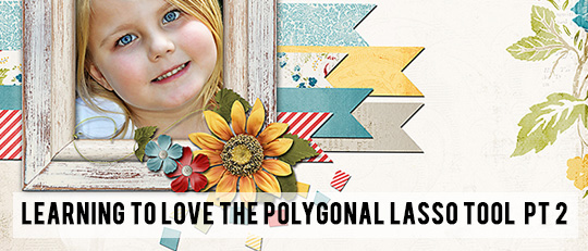 Polygonal Lasso Tool in Photoshop - Part 2 - Tutorial intro banner
