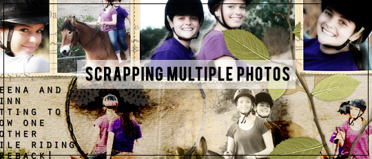Scrapping Multiple Photos