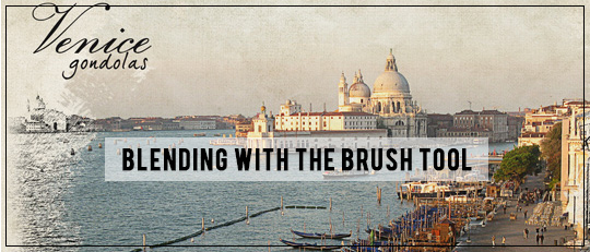 Blending with Brushes - Intro Banner