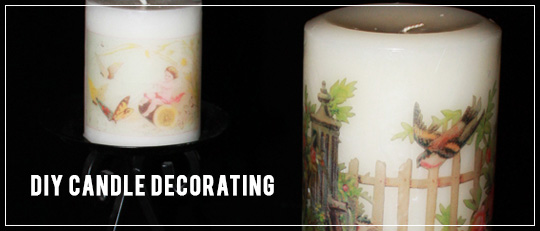 DIY: Candle Decorating