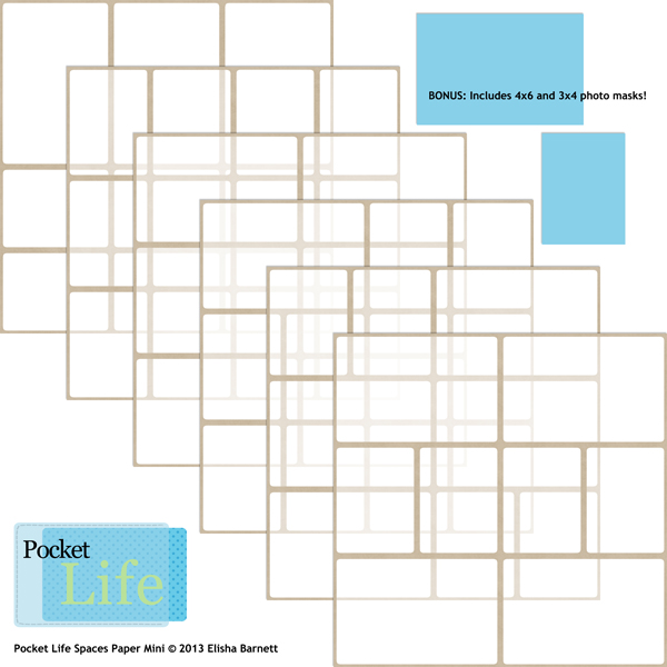 Pocket Life Spaces Paper Mini