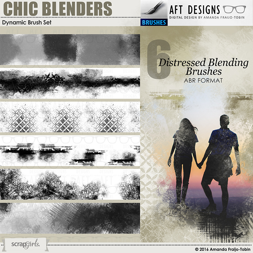 Chic Blenders Dynamic Brushes