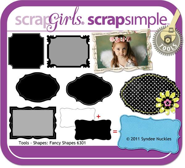 ScrapSimple Shapes - Fancy