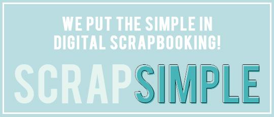 ScrapSimple Templates - put the Simple in digital scrapbooking! Intro Banner