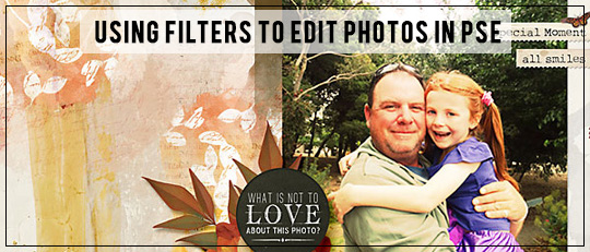 Using Filters to Edit Photos