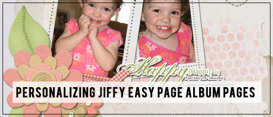 Personalizing Easy Pages - Tutorial Intro Banner