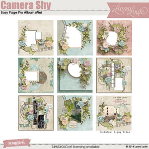 Camera Shy Easy Page Pro