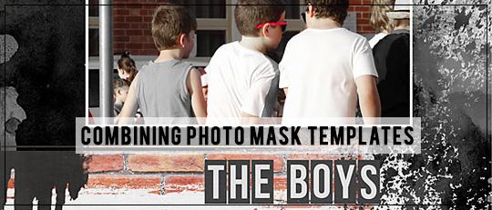 Combining Photo Mask Templates