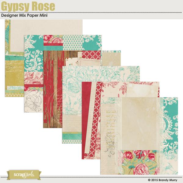Gypsy Rose Paper Mini Design Mix