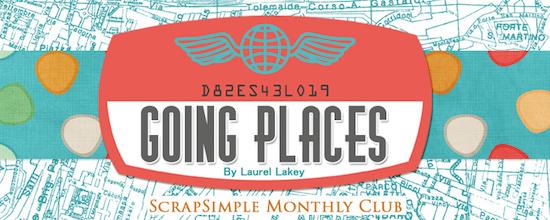 ScrapSimple Club Going Places