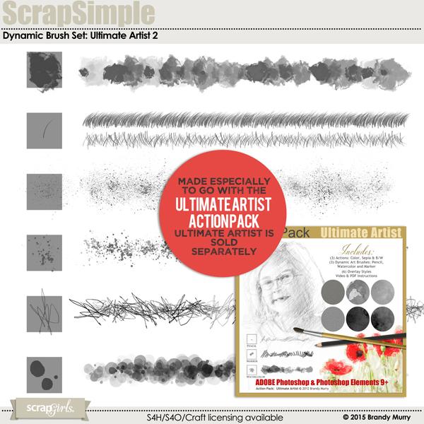 Dynamic Brush Set: Ultimate Artist 2