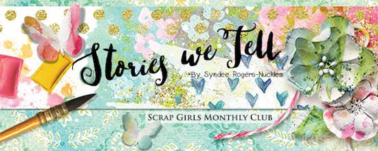 Scrap Girls Club Stories We Tell
