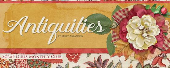 ScrapSimple Club Antiquities