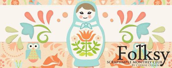 Folksy - ScrapSimple Club April 2016