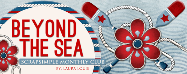Beyond the Sea - ScrapSimple Club June 2016