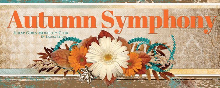 Scrap Girls Club - Autumn Symphony banner