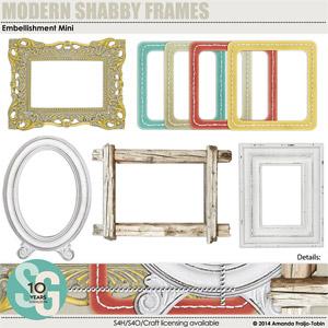 Modern Shabby Frames